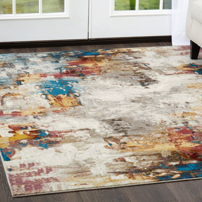 Nicole Miller Parlin Lilly Abstract Rectangular Area Rug