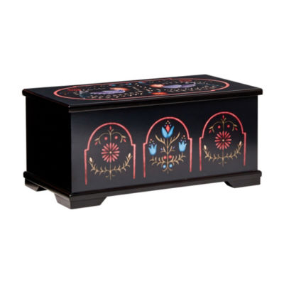 Mele & Co. Marley Wooden Jewelry Box