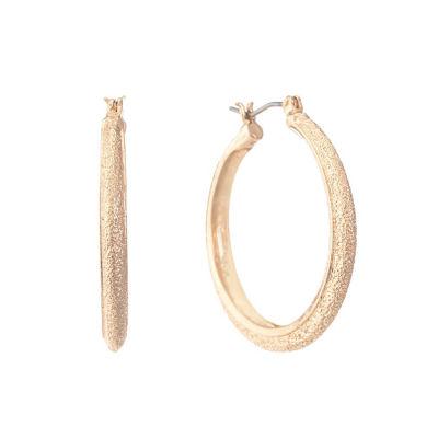 Gloria Vanderbilt 36.6mm Hoop Earrings