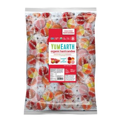 YumEarth Organic Favorite Fruit Hard Candies - 5 lb