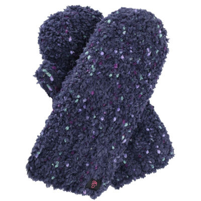 Cuddl Duds Plush Spacedye Knit Mitten