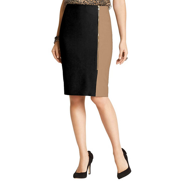 Phistic Women'S Colorblock Pencil Skirt