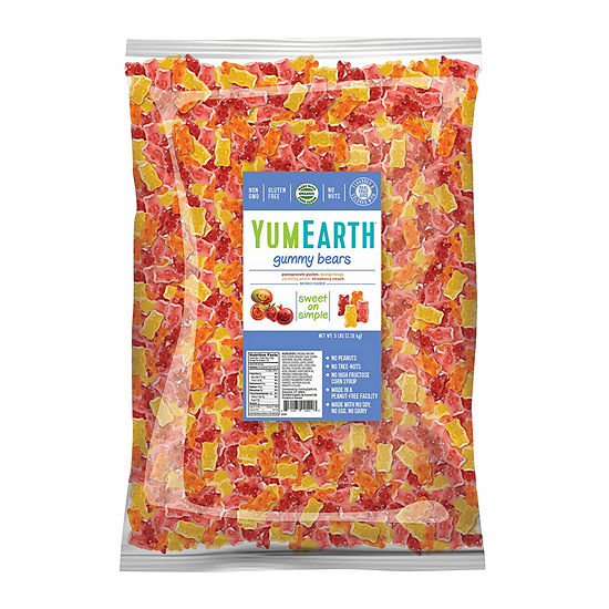Yumearth Gummy Bears 5 Lb