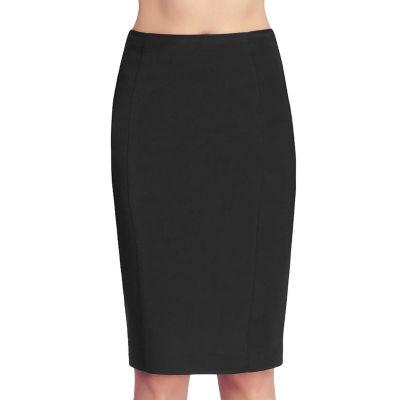 Phistic Women'S Back Zipper Pencil Skirt