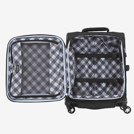 Travelpro Maxlite 5 21 1/2 Inch International Carry on Luggage, One Size , Black