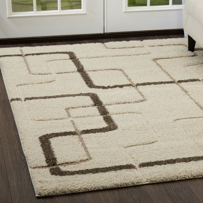 Home Dynamix Canyon Edgewood Abstract Rectangular Rug