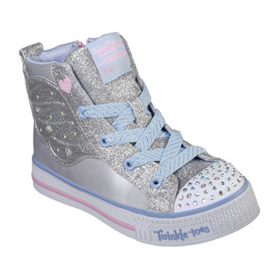 Skechers Twinkle Lite Girls Walking Shoes Lace-up - Little Kids/Big Kids
