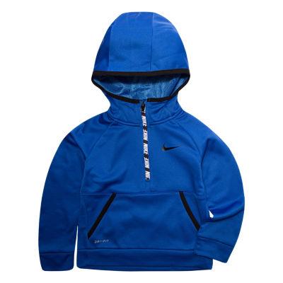 Nike Half Zip Therma Hoodie-Toddler Boys