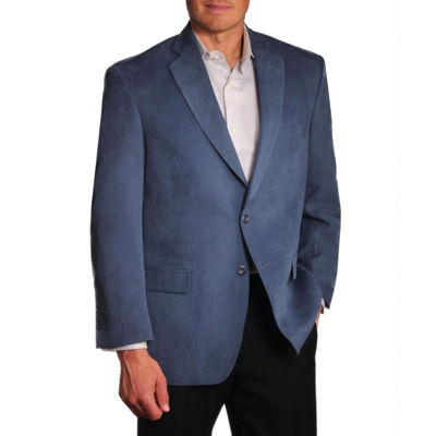Jean Paul Germain Suede Microfiber Sport Coat - Big