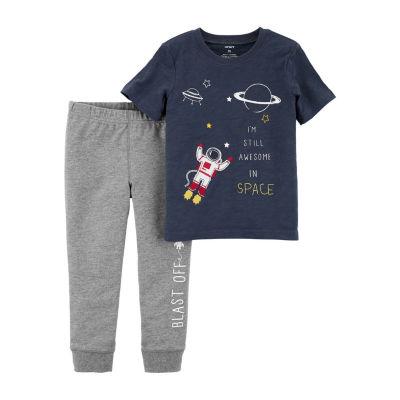 Carter's 2pc  Tee & Pant Set- Baby Boy