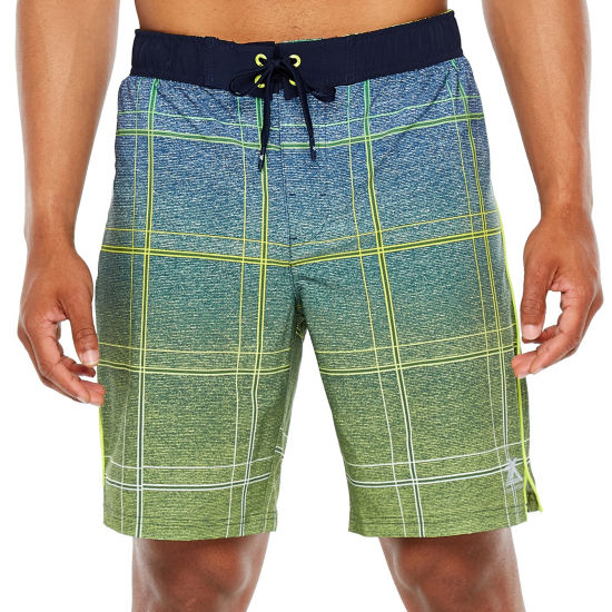 Zeroxposur Plaid E-Board Swim