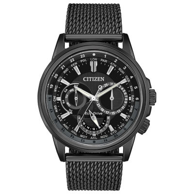 Citizen Mens Black Bangle Watch-Bu2025-76e