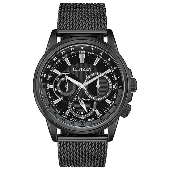 Citizen Mens Black Bracelet Watch Bu2025 76e