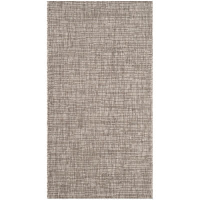 Safavieh Courtyard Collection Dallas Stripe Indoor/Outdoor Area Rug