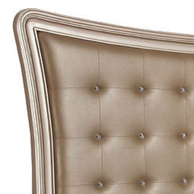 Dynasty Upholstered Panel King Bed