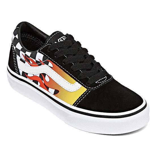 Vans Ward Unisex Skate Shoes - Big Kids