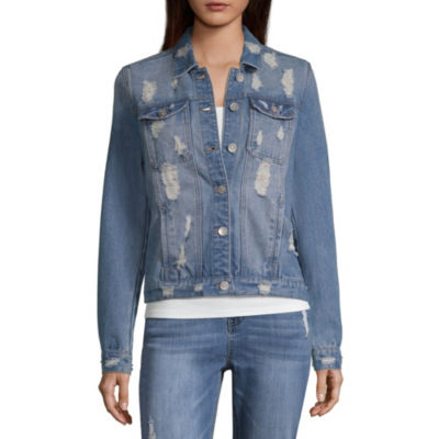 Highway Jeans Lightweight Denim Jacket-Juniors