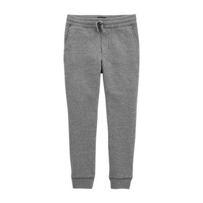 Oshkosh Boys Mid Rise Straight Pull-On Pants - Preschool
