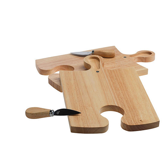 Denmark Artisanal 4-pc. Cheese Board Set