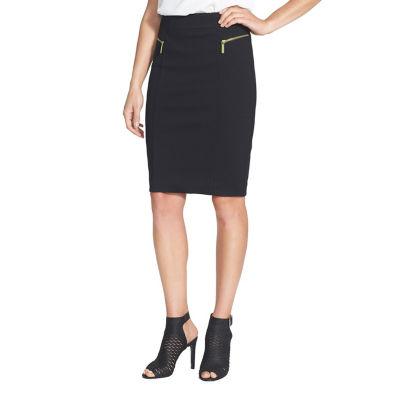 Phistic Women'S Zipper Accent Pencil Skirt