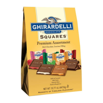 Ghirardelli Premium Assortment Chocolate Squares -15.77 oz