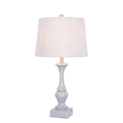Fangio Lighting's 28 inch Resin Table Lamp