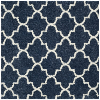 Safavieh Montreal Shag Collection Shelby GeometricSquare Area Rug