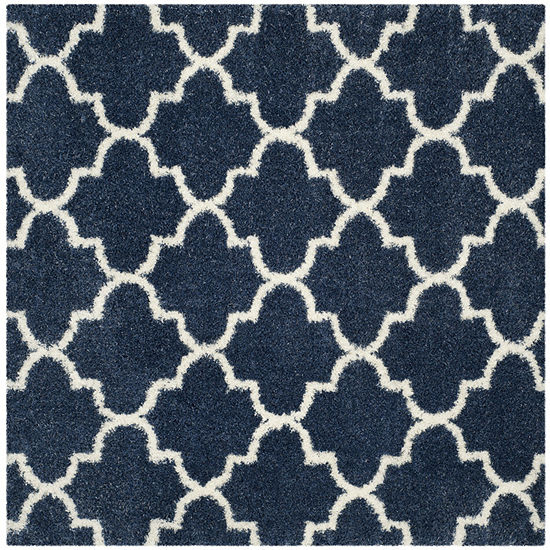 Safavieh Montreal Shag Collection Shelby Geometric Square Area Rug
