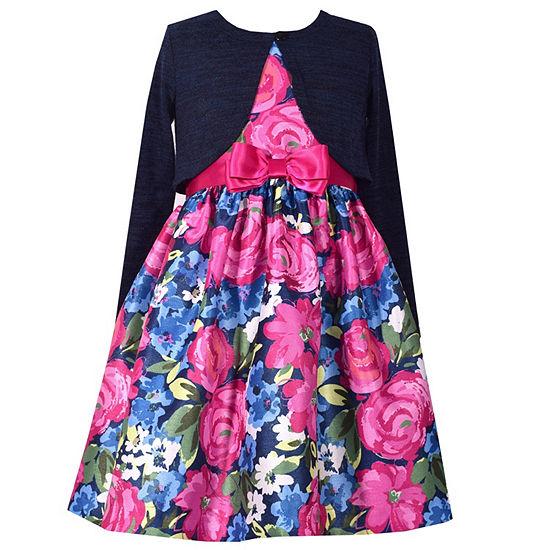 Bonnie Jean Girls Jacket Dress - Preschool / Big Kid