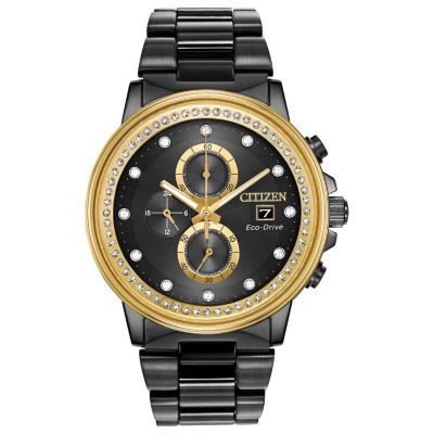 Citizen Mens Black Bracelet Watch-Fb3008-57e