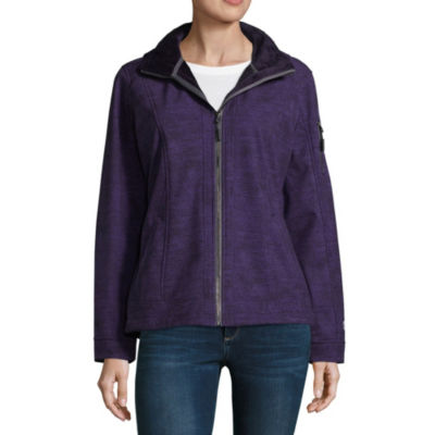 Free Country Woven Hooded Water Resistant Lightweight Softshell Jacket-Tall