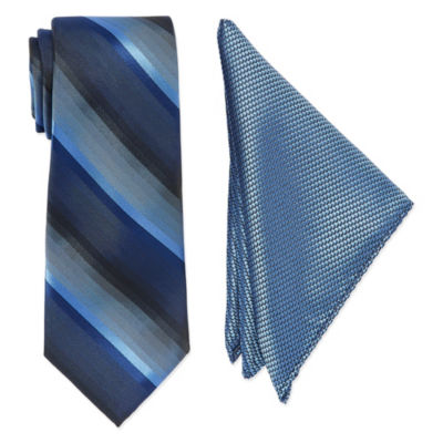 U.S. Polo Assn. Extra Long Stripe Tie Set