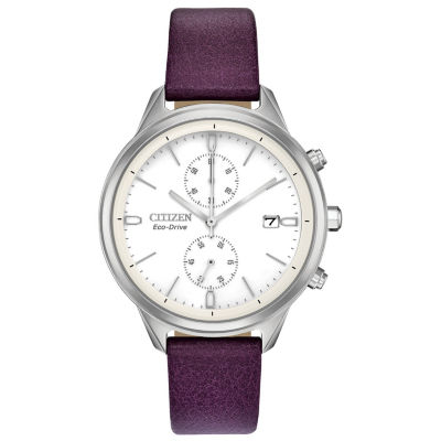 Citizen Womens Purple Strap Watch-Fb2000-11a