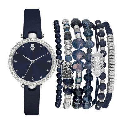 Womens Blue Bracelet Watch-St2454s689-007