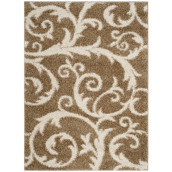 Safavieh New York Shag Collection Donovan Geometric Area Rug