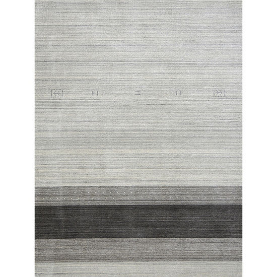 Amer Rugs Blend AA Hand-Woven Wool and Viscose Rug