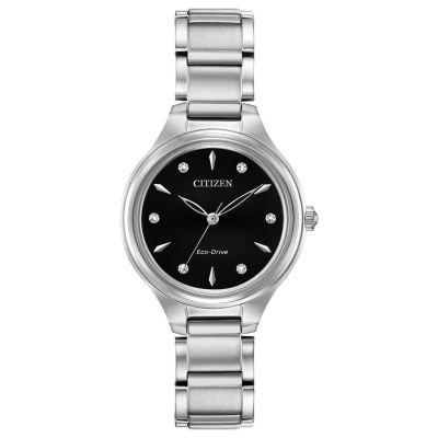 Citizen Womens Silver Tone Bracelet Watch-Fe2100-51e