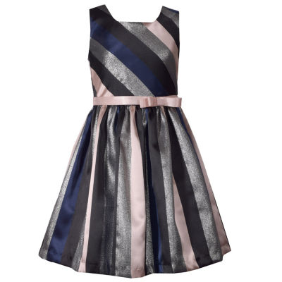 Bonnie Jean Sleeveless Party Dress Girls Plus