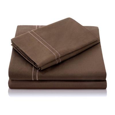 Malouf Woven 600 Thread Count Egyptian Cotton Sheet Set