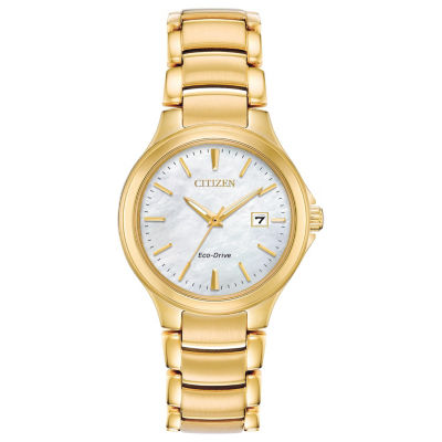 Citizen Womens Gold Tone Bracelet Watch-Ew2522-51d