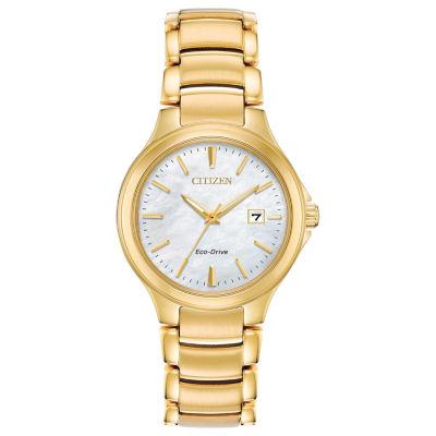 Citizen Womens Gold Tone Bracelet Watch-Ew2522-51d