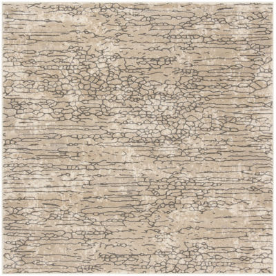 Safavieh Meadow Collection Cian Abstract Square Area Rug