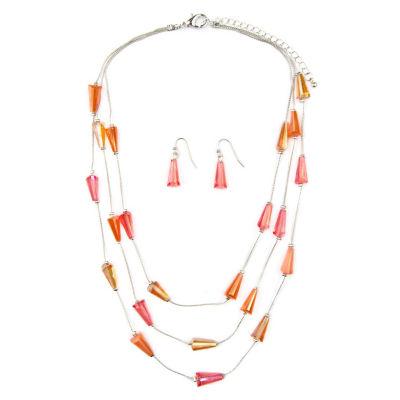 Mixit Womens Silver Tone 3-pc. Jewelry Set