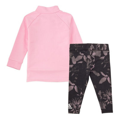 adidas 2-Pc. Legging Set-Baby Girls