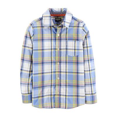 Oshkosh Long Sleeve T-Shirt-Preschool Boys