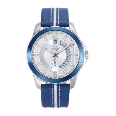 Esq Mens Blue Strap Watch-37esq009101a