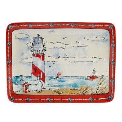 Certified International Coastal Life Serving Platter