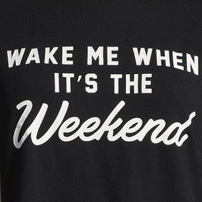 "Hybrid Tees ""Wake Me When It's the Weekend"" Tee - Juniors"