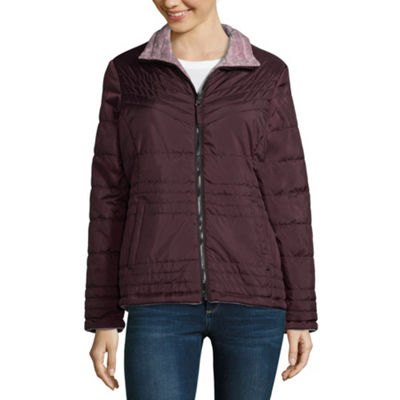Free Country Woven Water Resistant Lightweight Puffer Jacket-Tall