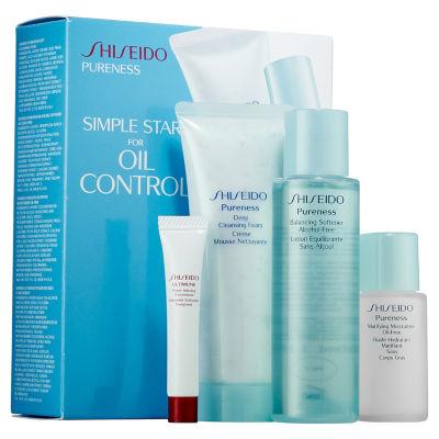 Shiseido Simple Start For Oil Control Pureness Set